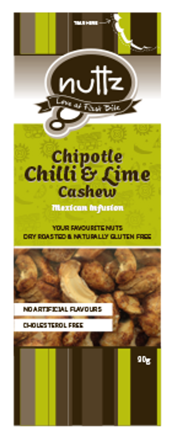 Chipotle Chilli & Lime Cashew 90g