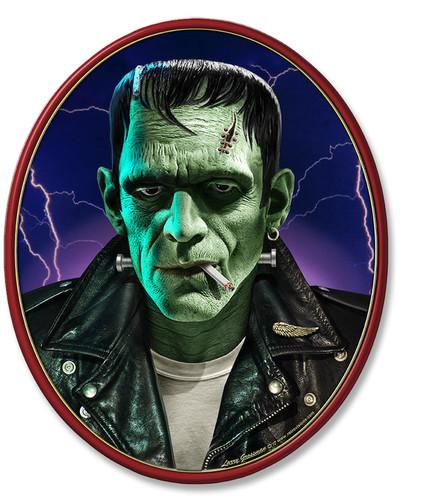 Frankie Boy Metal Sign 13 x 11 Inches