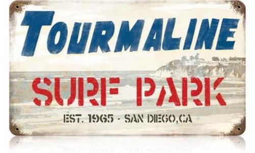 Vintage-Retro Tourmaline Metal-Tin Sign