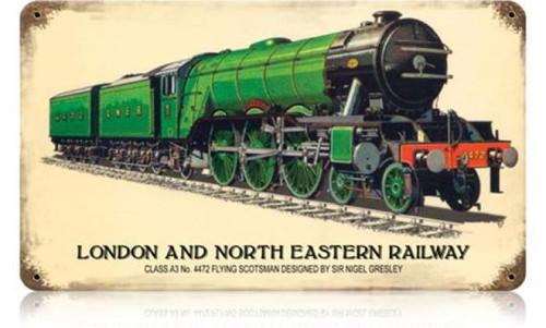Vintage-Retro London and North Eastern Railway Metal-Tin Sign