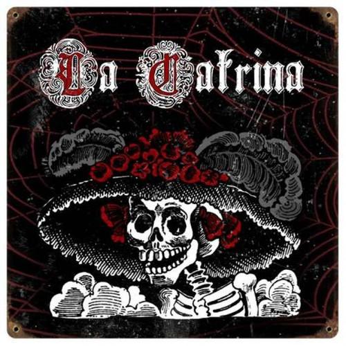 Vintage-Retro La Catrina Metal-Tin Sign