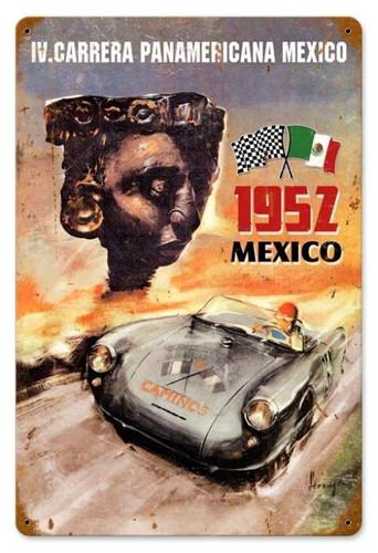 Vintage-Retro Panamericana Metal-Tin Sign