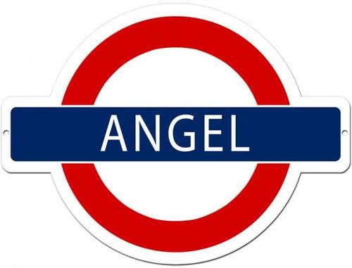 Vintage-Retro Angel Underground Metal-Tin Sign