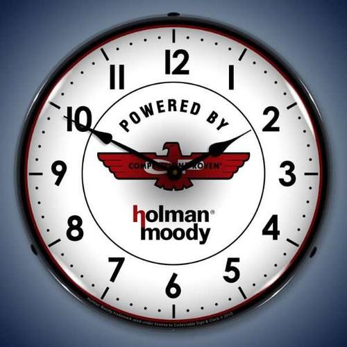Vintage-Retro  Holman Moody Lighted Wall Clock
