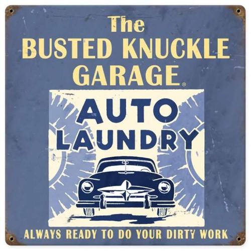 Vintage  Car Wash Metal Sign