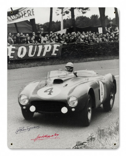 Vintage Le Mans 15 x 12 inches Tin Sign