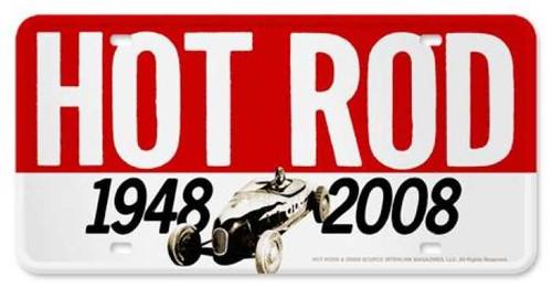 Vintage-Retro 60th Anniversary License Plate