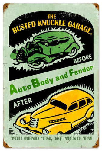 Vintage-Retro Auto Repair Metal-Tin Sign