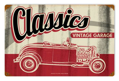 Vintage-Retro Classic Garage Metal-Tin Sign