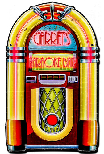 Jukebox Tin Sign - Personalized 22 x 16 Inches