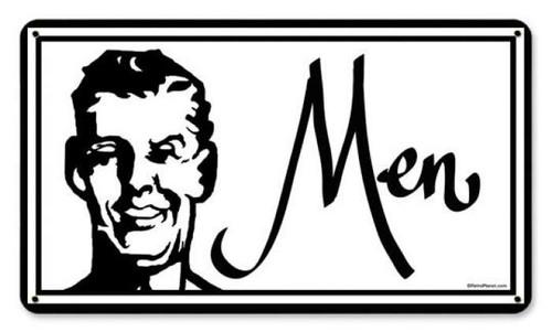 Vintage-Retro Men Metal-Tin Sign