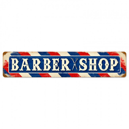 Vintage-Retro Barber Shop Metal-Tin Sign