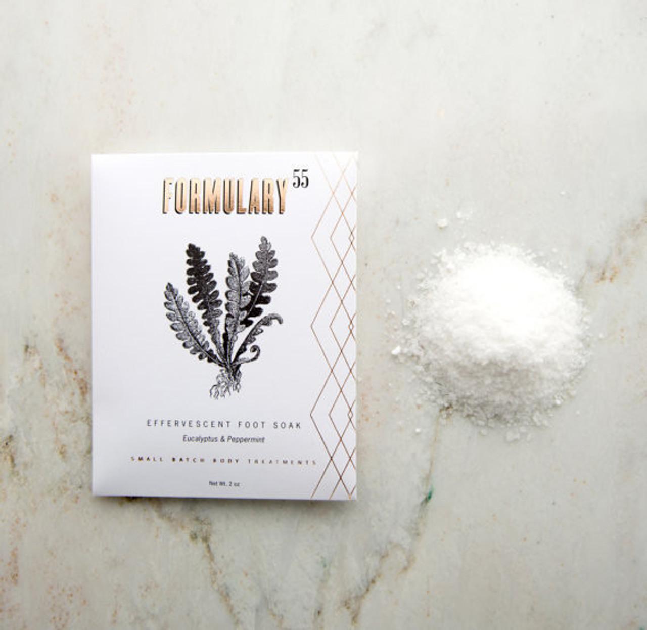 Peppermint and Eucalyptus Foot Scrub