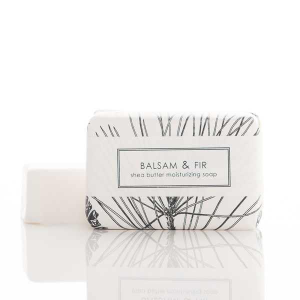 Balsam and Fir Shea Butter Soap