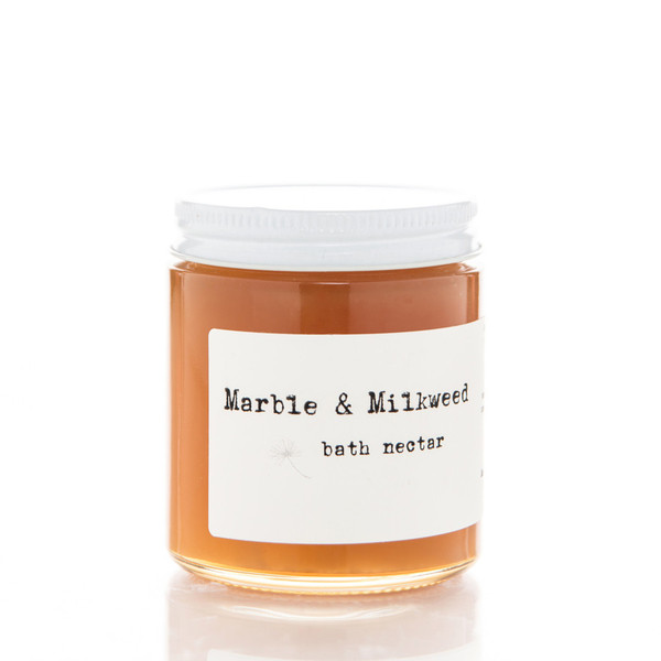 Marble and Milkweed Bath Nectar
