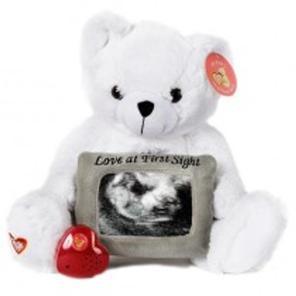White LOVE Bear   *SPECIAL ORDER*