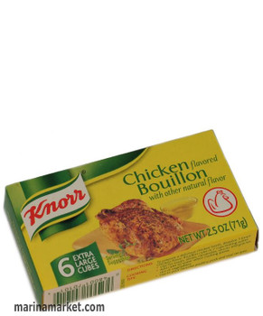 KNORR CHICKEN BOUILLON CUBES 71g