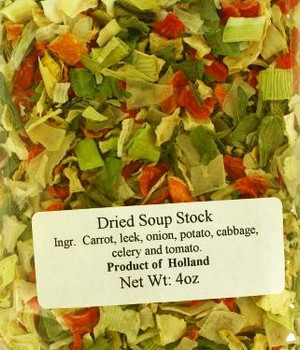 GROENTE SOUP VEGETABLE MIX 100g