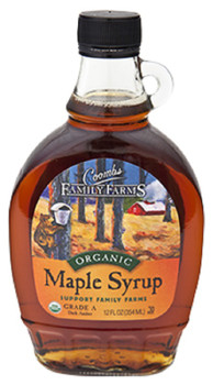 COOMBS FAMILY FARMS ORGANIC MAPLE SYRUP 8oz