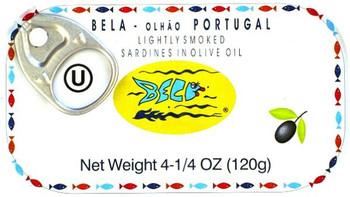 BELA SARDINES OLIVE OIL 120g