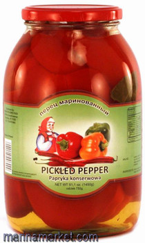 BABUSHKA SWEET MARINATED PEPPERS 1.5L