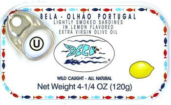 BELA SARDINE IN LEMON OLIVE OIL 120g