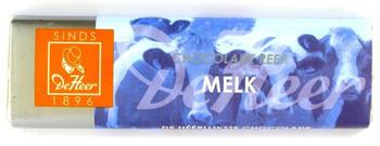 DE HEER MILK CHOCOLAT 75G