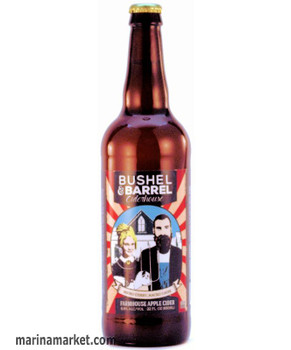 BUSHEL & BARREL FARMHOUSE CIDER 22oz