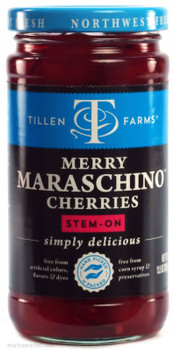 TILLEN FARMS MARASCHINO CHERRIES 14oz