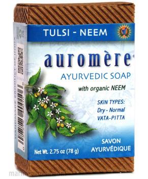 AUROMERE TULSI NEEM SOAP 78g