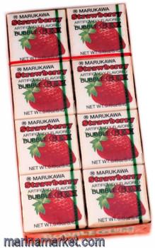 MARUKAWA STRAWBERRY GUM