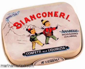 AMARELLI BIANCONERI KIDS TIN 20g