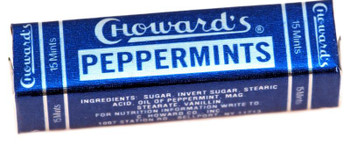 C HOWARDS PEPPERMINT MINT