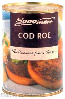 SUNNMORE COD ROE CAKES 400g