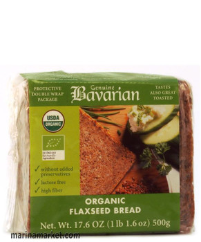 BAVARIAN ORGANIC SLICED FLAXSEED 500g