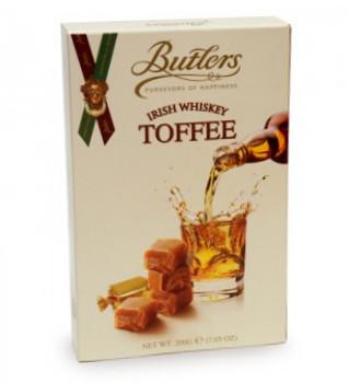 BUTLER'S IRISH WHISKEY TOFFEE 200g