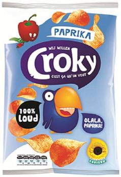CROKY PAPRIKA CHIPS 200g