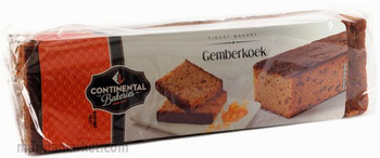 CONTINENTAL BAKERIES HONEY GINGER SPICE CAKE 475g
