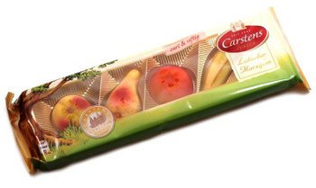 CARSTENS MARZIPAN FRUITS 65g