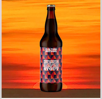 EVIL TWIN SOME PEOPLE ARE IMMUNE TO GOOD ADVICE 22oz