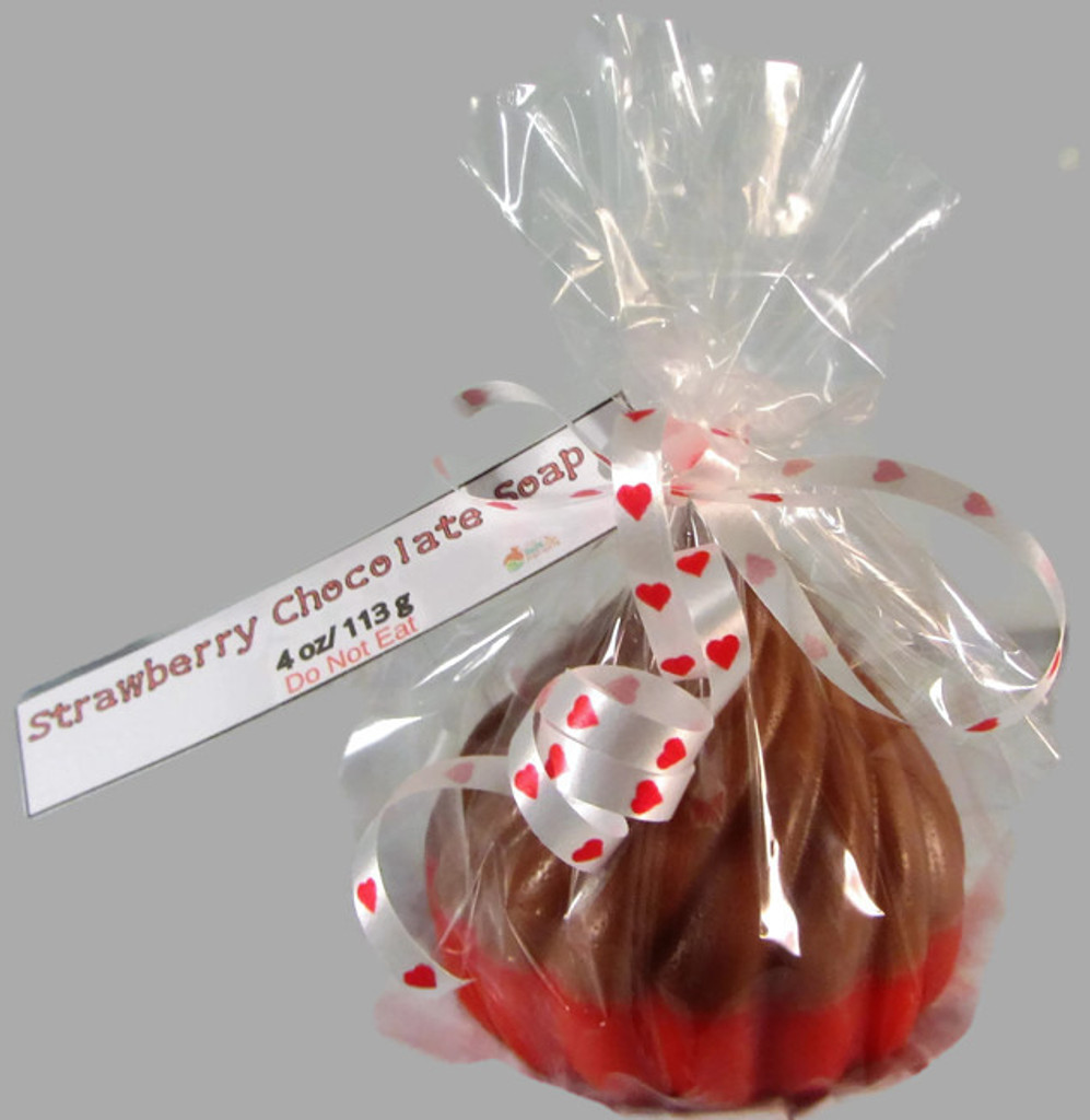 Strawberry Chocolate Kiss Soap