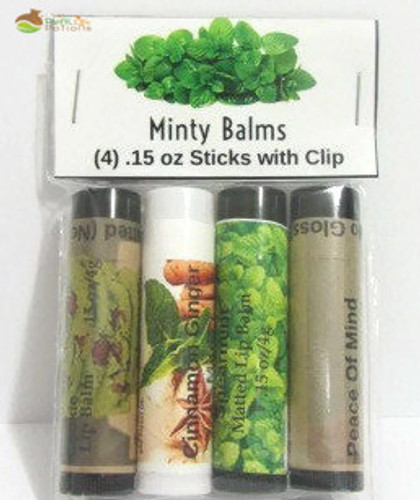 Minty Lip Balm Set