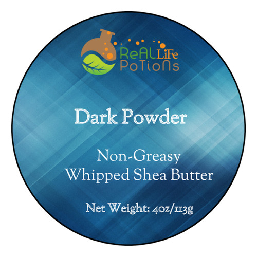 Whipped Shea Butter - Dark Powder