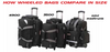 How Wheeled Bags Compare in Size