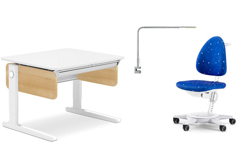 MOLL CHAMPION COMPACT WOOD DESK SIDE DESK ONLY (COMBO BUNDLE)