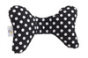 Black Dot Infant Head Support Pillow