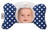 Blue Dot Baby Head Pillow