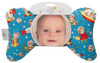 Retro Rockets Baby Head Pillow