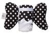 Black Dot Infant Head Support
