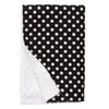 "Black Dot XL Baby Blanket (42"" x 32"")"